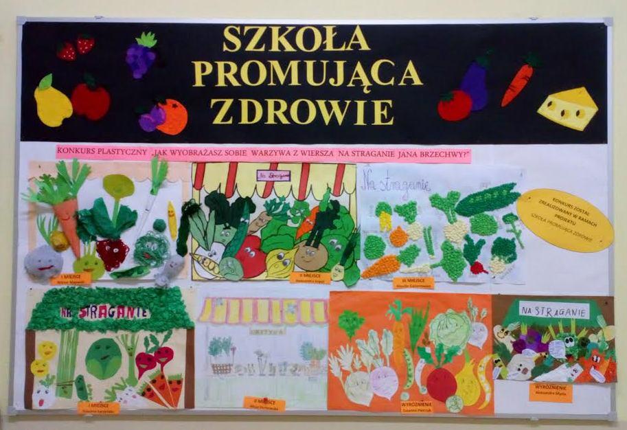 Konkurs Plastyczny Jak Wyobrażasz Sobie Warzywa Z Wiersza